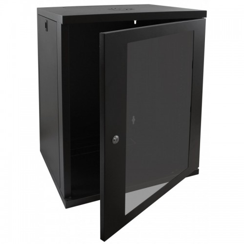 15U Data Cabinet 550mm Deep Image | Metro Solutions