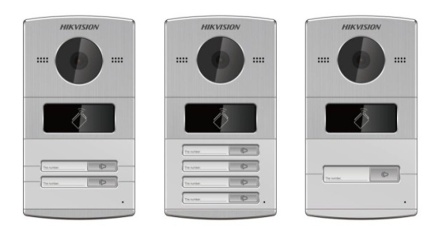 Hikvision 2-Button  Intercom Door DS-KV8202-I Image | Metro Solutions