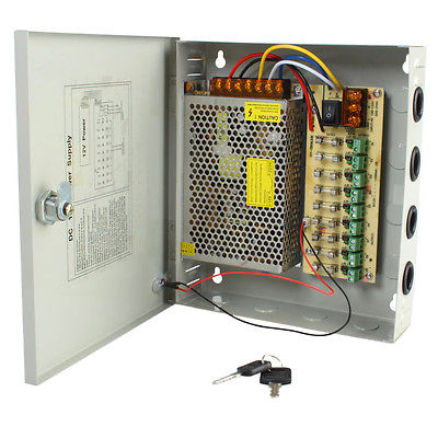 12v 20A 18 Output  CCTV Wall Power Supply Image | Metro Solutions