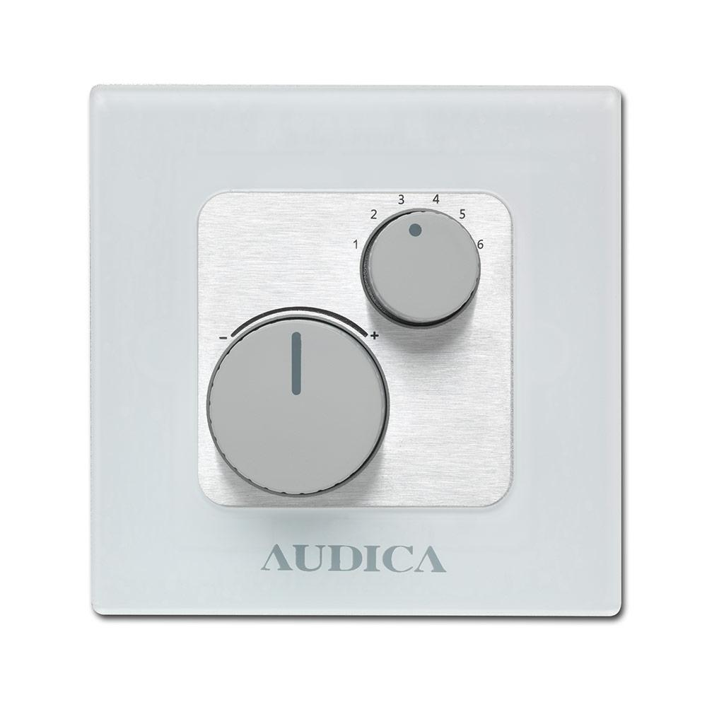 Audica Pro WMC MultiZone Wall Plate Controlle Image | Metro Solutions