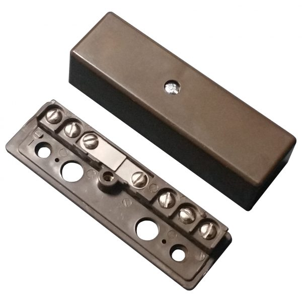 Alarm Junction Box 7 Screw Brown J40 Image | Metro Solutions
