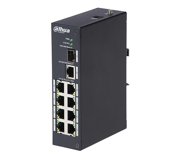 Dahua 8 Port POE Switch 96w Image | Metro Solutions