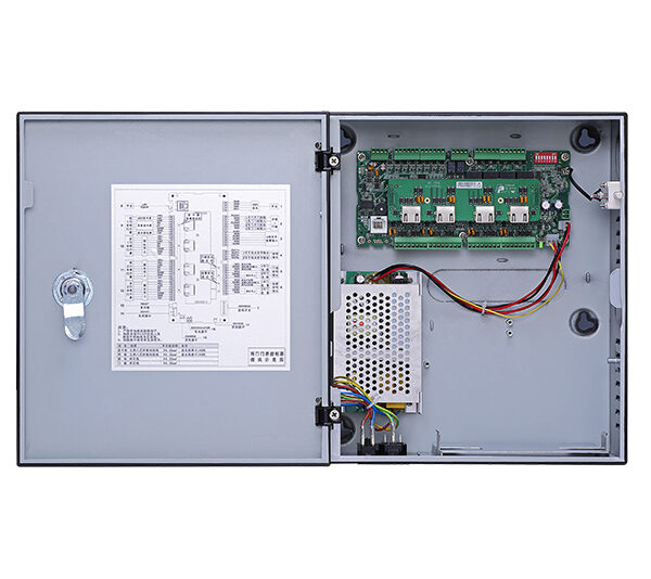 Four Door One Way Access Controller with PSU Image   Metro Solutions