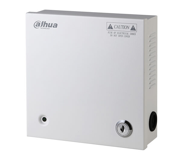Dahua 12v 5 Output Boxed PSU Image | Metro Solutions