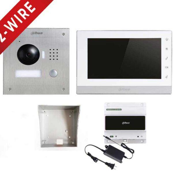 Dahua 2-Wire IP Video Intercom Kit Image   Metro Solutions
