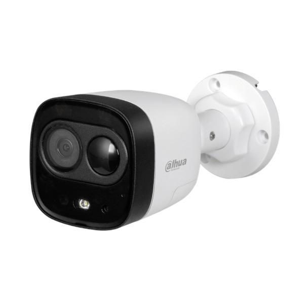 Dahua CVI 5MP Bullet Active Deterence Camera Image | Metro Solutions
