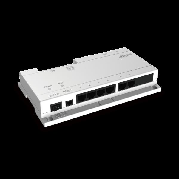 Dahua 6 Way POE for Intercom VTNS1060A Image | Metro Solutions