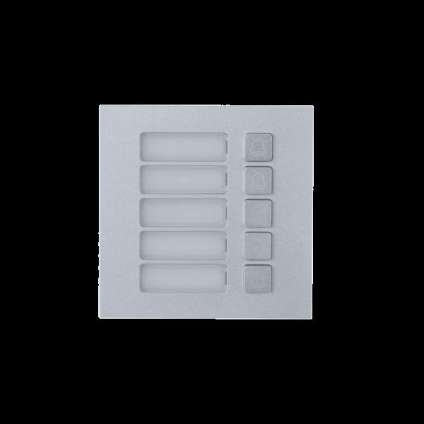 Dahua IP Modular Video Intercom 5-Butt Module Image   Metro Solutions