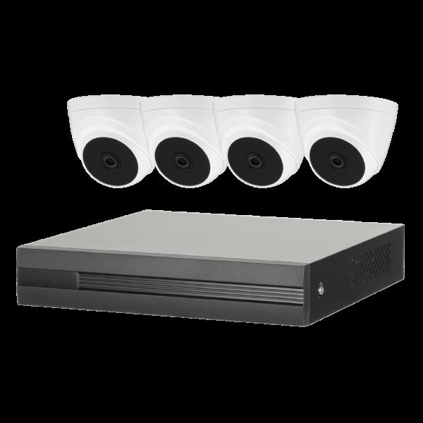 EZ-IP Cooper 4 Camera CCTV Kit Image | Metro Solutions