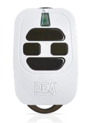 DEA 4 Button Remote Control Fob Image | Metro Solutions