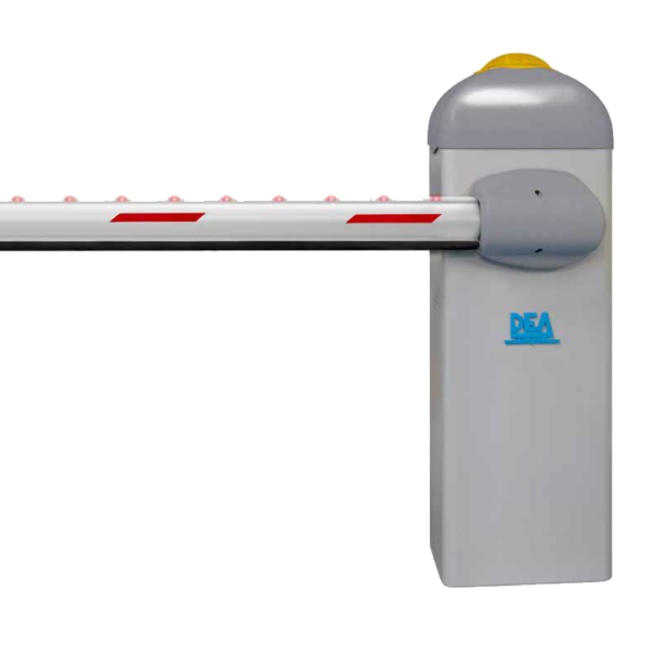 DEA 24v STOP Barrier KIT 8mtr Intensive Use Roadway Image | Metro Solutions