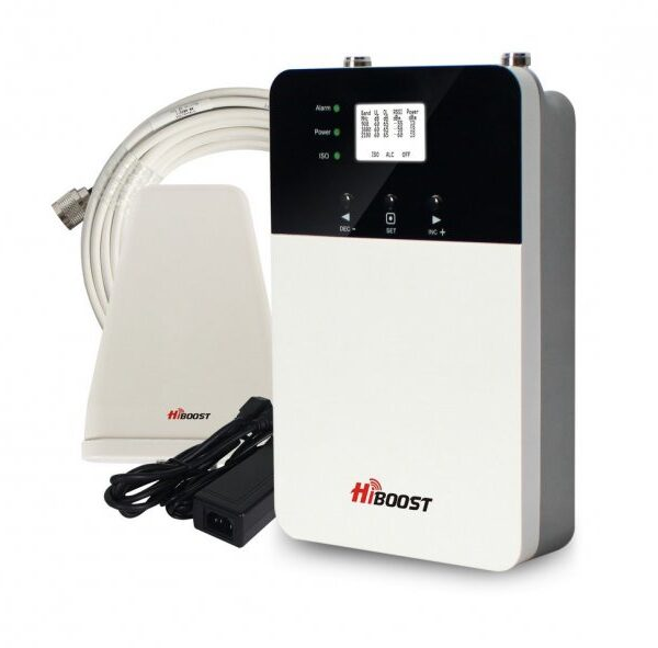 HiBoost Phone & Data Signal Booster 3G 2100 up to 500-1000 square meters Image | Metro Solutions