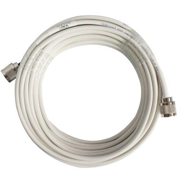 HiBoost 200 Low Loss 15.2m 3D-FB cable N Conn Image | Metro Solutions