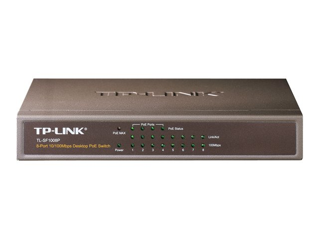 TP-Link TL-SF1008P 8 port 10/100M PoE Switch